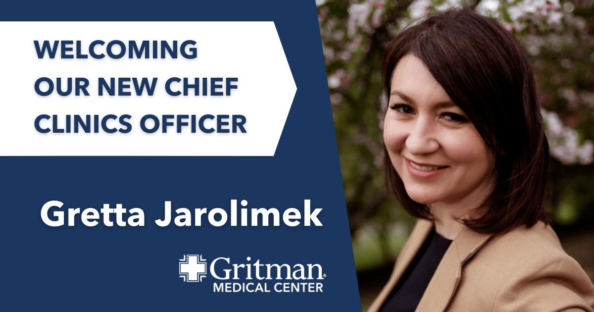 Chief clinics officer gretta jarolimek