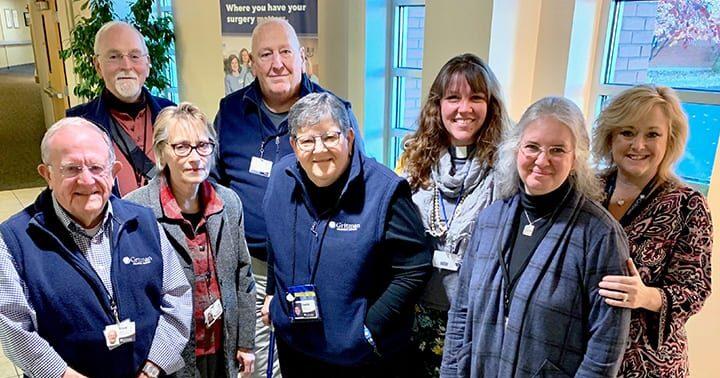 Volunteer chaplains