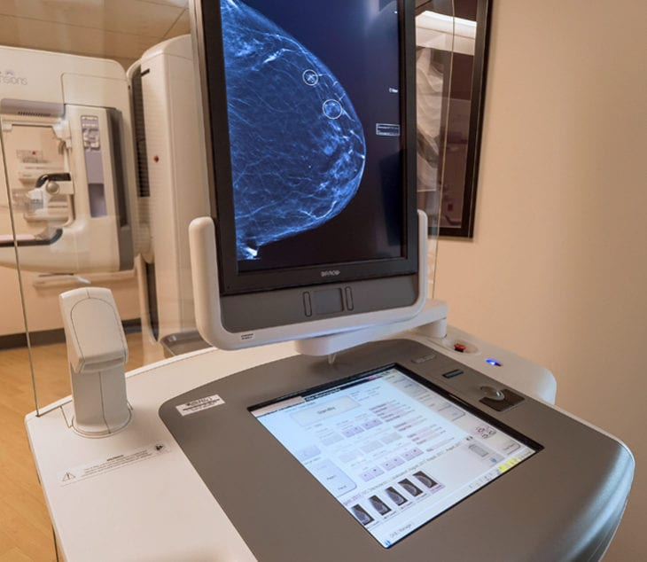 The women's imaging center features the latest 3d imaging, mammography and biopsy technology.