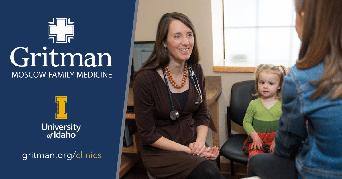 Gritman   moscow family medicine dr. Bryn parker, pictured here in 2016, has worked to foster a recruitment pipeline between the wwami program and the family medicine program at gritman. Photos are courtesy of the university of idaho.