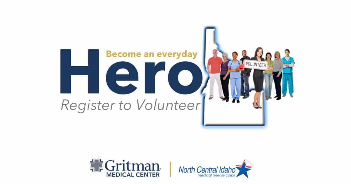 Gritman joins idaho call for volunteers