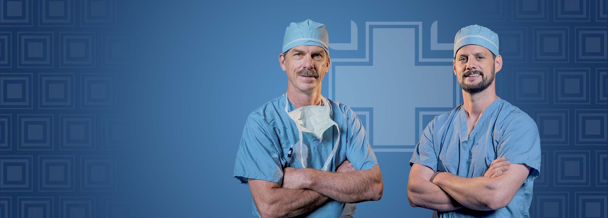 Gritman General Surgeons, Dr. Anderson and Dr. Newell