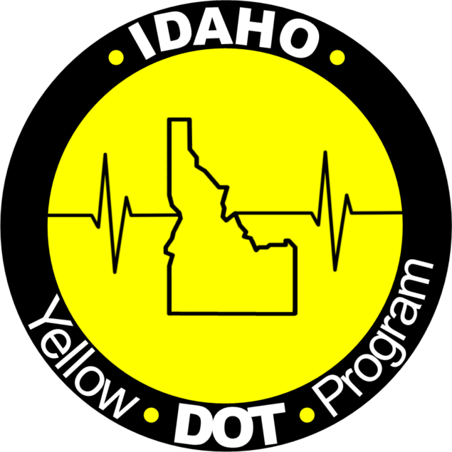 Idaho Yellow Dot Logo