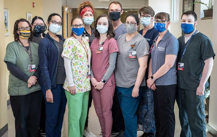 The gritman lab team is pictured.