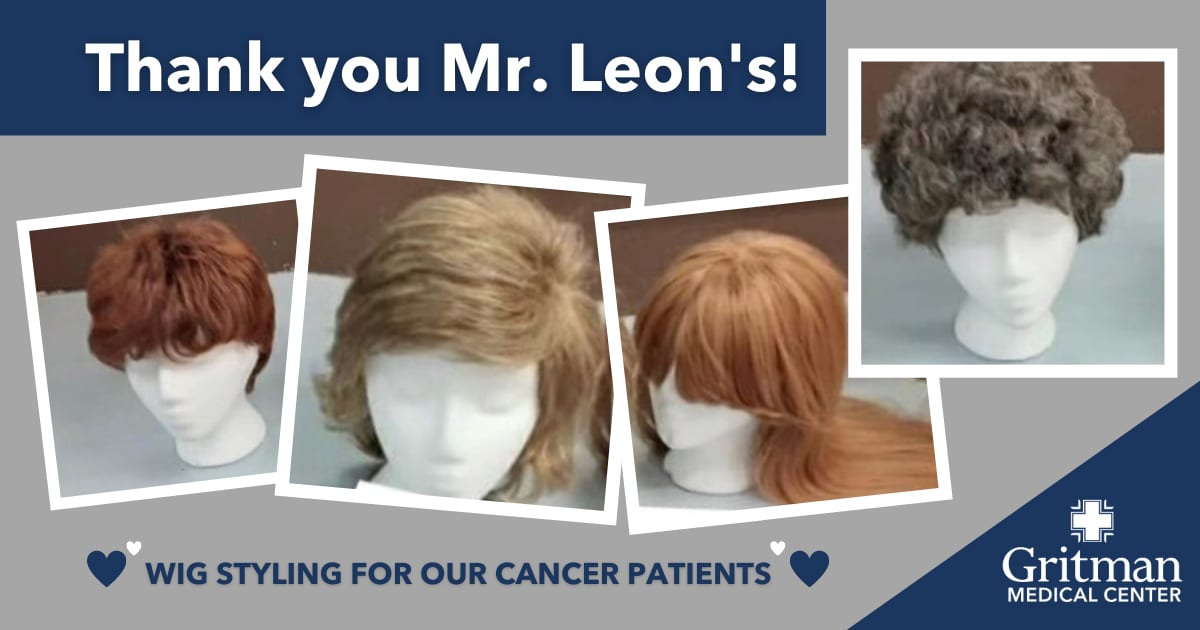 Mr Leons wig styling for cancer patients 1
