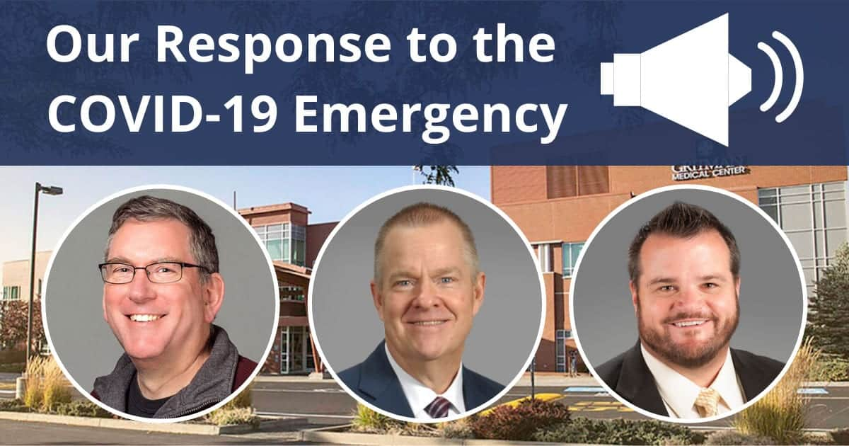 Our Response to the COVID 19 Emergency