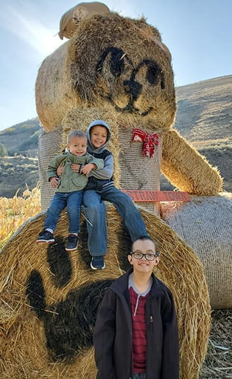 Rielynn and brothers