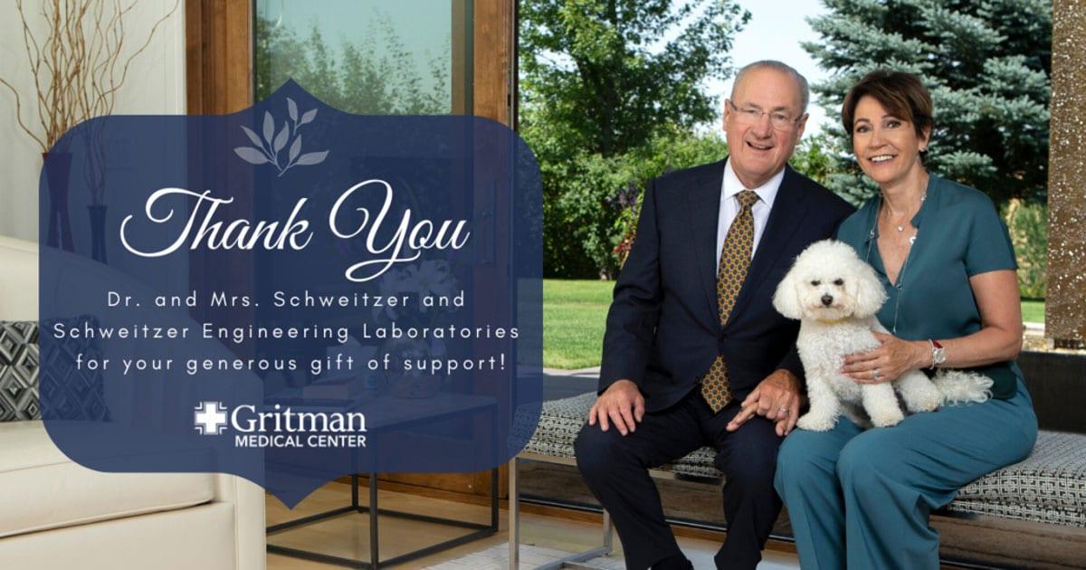 Schweitzer Gift Announcement