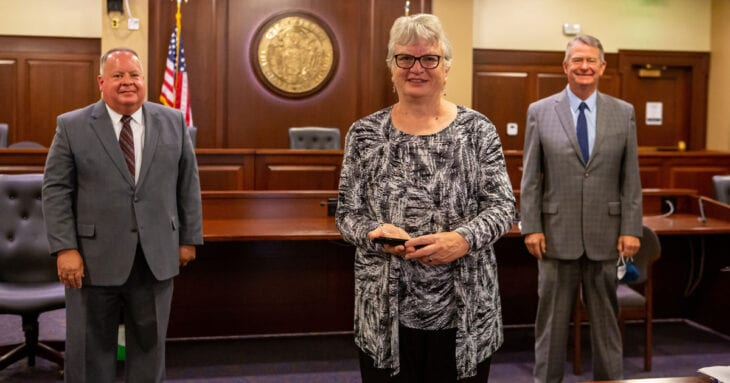 Gritman volunteer Carolyn Strong honored by Gov. Little