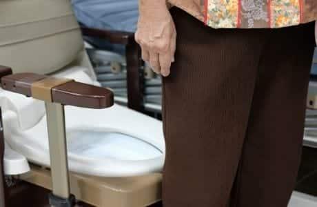 bedside commode toilet