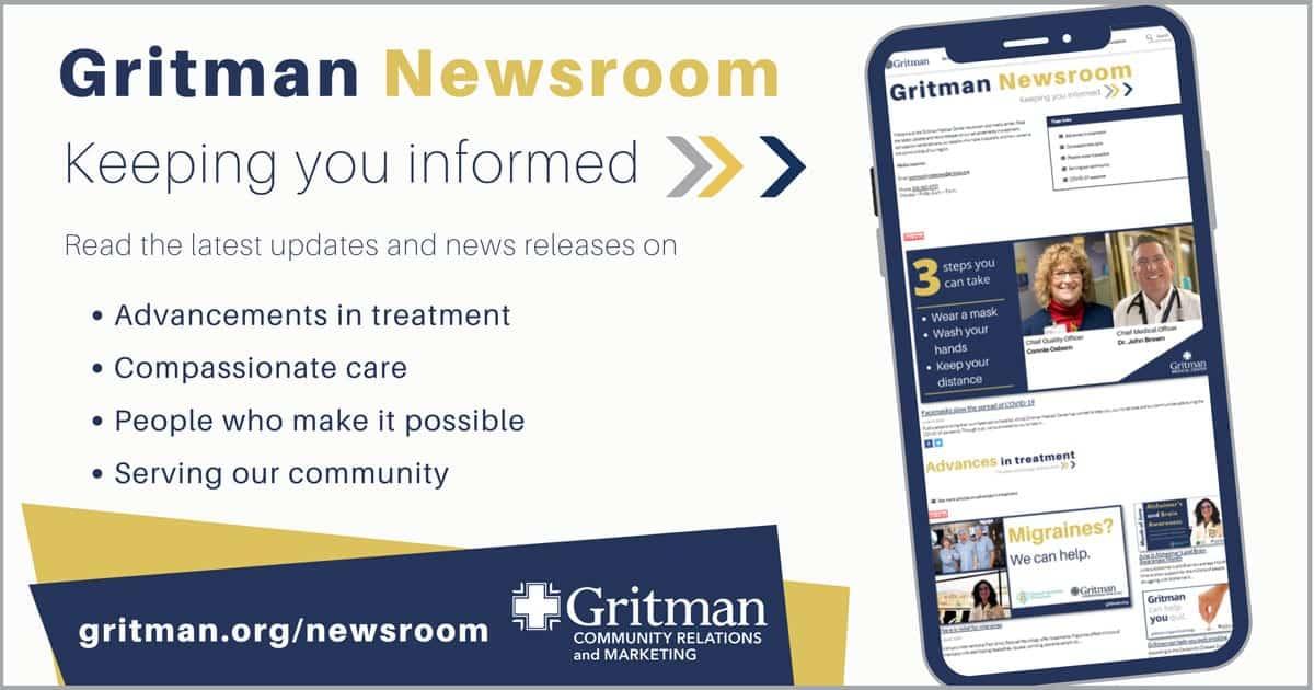 Website Newsroom promo
