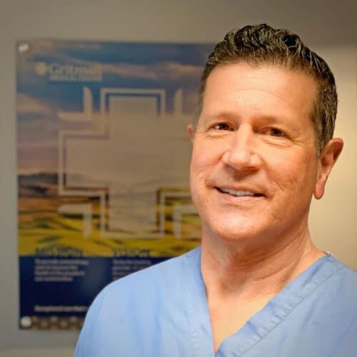 Dr. Brad Capawana treats foot and ankle at Gritman's Podiatry