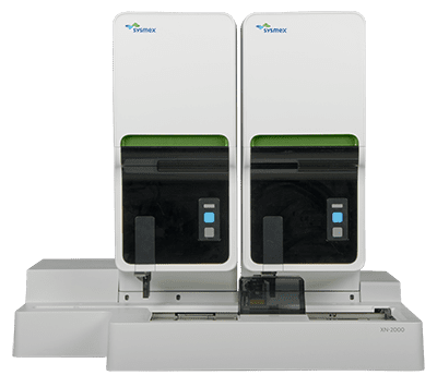 hematology analyzer XN 2000 straight on