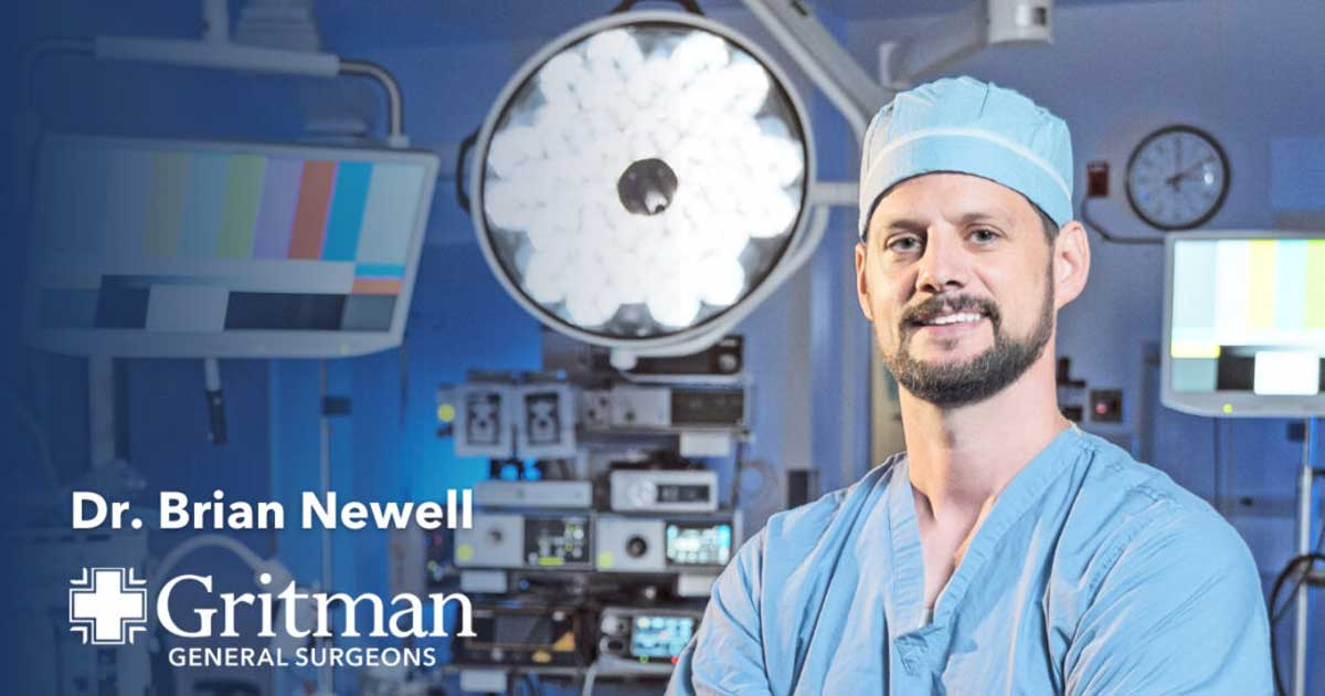 Dr. Brian newell - gritman general surgeon