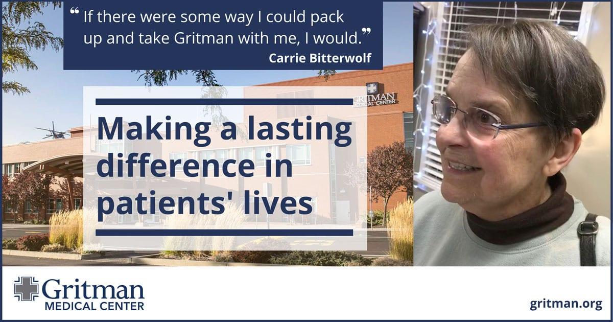 patient story Carrie Bitterwolf